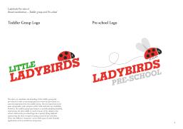 Ladybirds Branding Guidelines