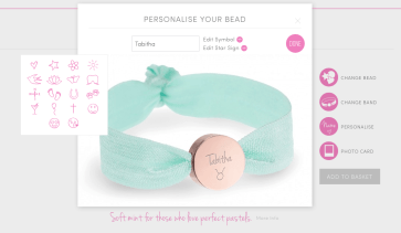 Lily Belle Bracelet and Website Icons