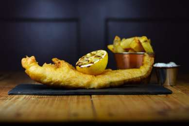 Fish and Chips Food Photography