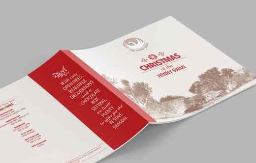 Henny Swan Christmas Brochure Cover