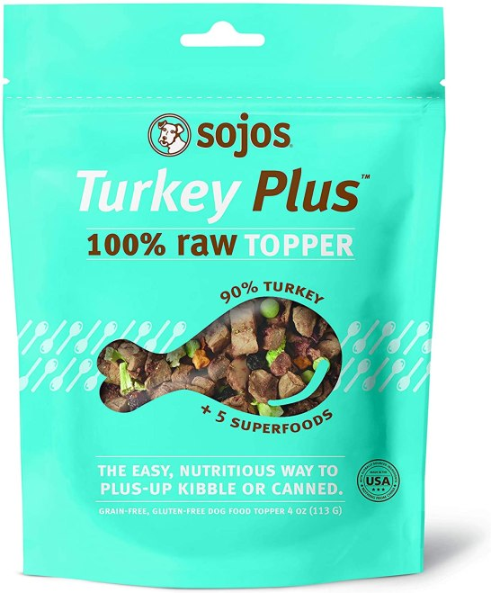 Sojos Raw Dog Food Toppers