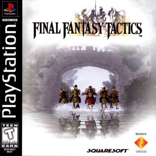 Final Fantasy Tactics [U] [SCUS-94221]-front