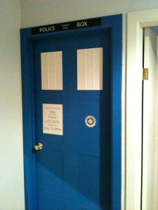 The finished door.