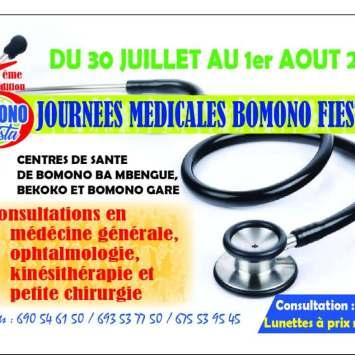 La 6e édition du festival « Bomono Fiesta » ouvre ses portes aux consultations médicales