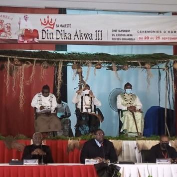 Cérémonies d'hommage de Sa majesté DIN Dicka Akwa III, les activités sont lancées