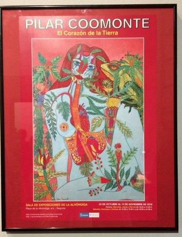 Exposición de Pilar Coomonte en La Alhóndiga (Segovia).