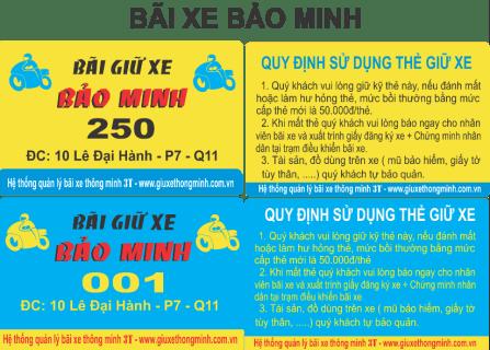 BAI XE BAO MINH