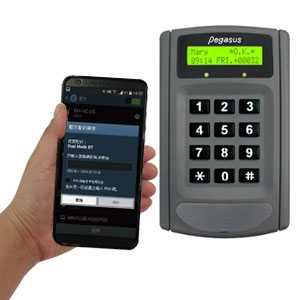 PP-6750V Time Attendance Recorder and Access Controller