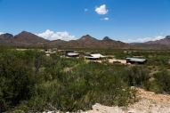 Our view of the Terlingua Ranch Lodge. (Credit: Glen Vigus.)