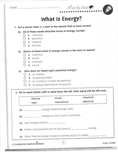 small resolution of Friction Worksheets For Middle School Science   Printable Worksheets and  Activities for Teachers