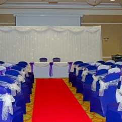Wedding Chair Covers Tamworth Champagne Banquet Gallery Starlight Backdrops