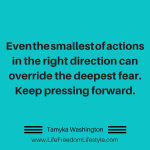 Day 6 – Overcome Fear