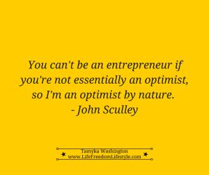 Optimistic Entrepreneur