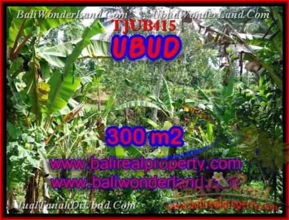 TANAH DIJUAL di UBUD 300 m2 di Sentral Ubud