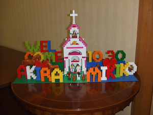 ウェルカムボード(レゴ) 003 ブログ