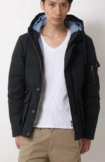 綿のダウンジャケット