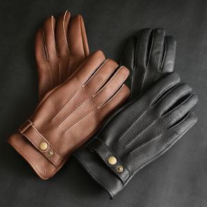 鹿皮の手袋