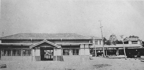 両備軽便鉄道福山駅
