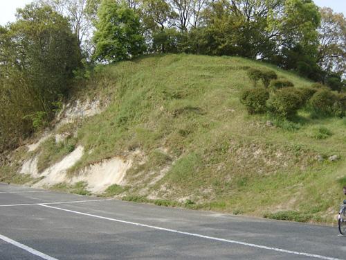 現在の小丸山。