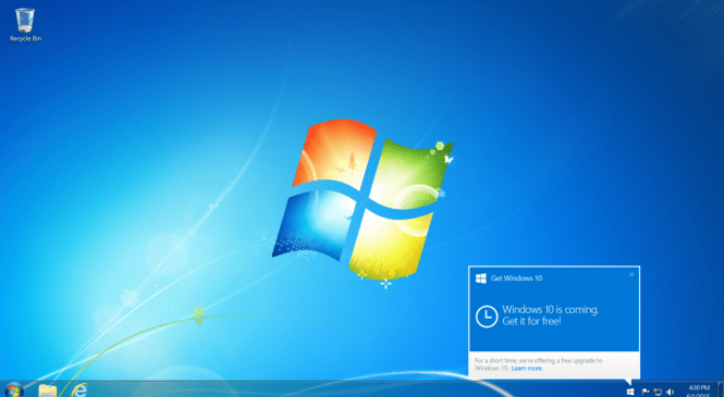 Microsoft stops the sale of windows 7 and 8.1 PCs