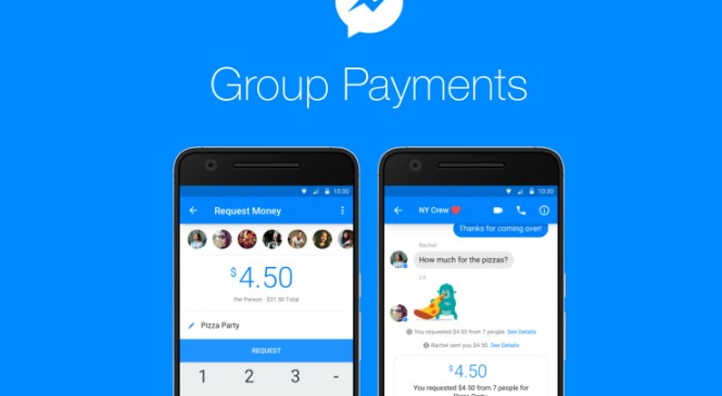 Facebook Messenger now supports group payments