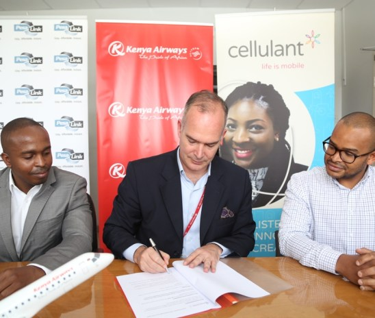 Cellulant partners with Kenya Airways to enable online bookings through mobile money wallets