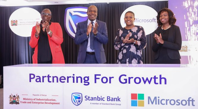 Kenya Trade Ministry partnership to bridge digital skills gap