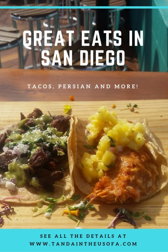 Great eats and bars in San Diego's Gaslamp District