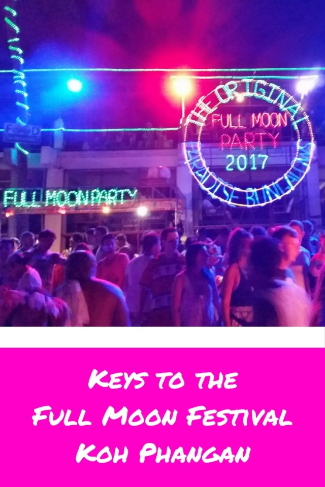 Have the time of your life celebrating the Full Moon Festival on Koh Phangan