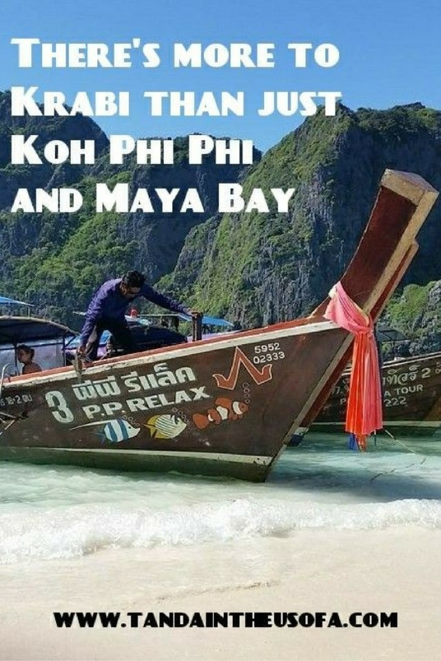 There's a lot more to Krabi and just Koh Phi Phi and Maya Bay made famous by the movie, The Beach