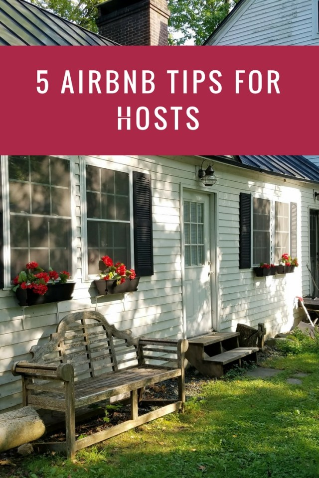 5 tips for airbnb hosts