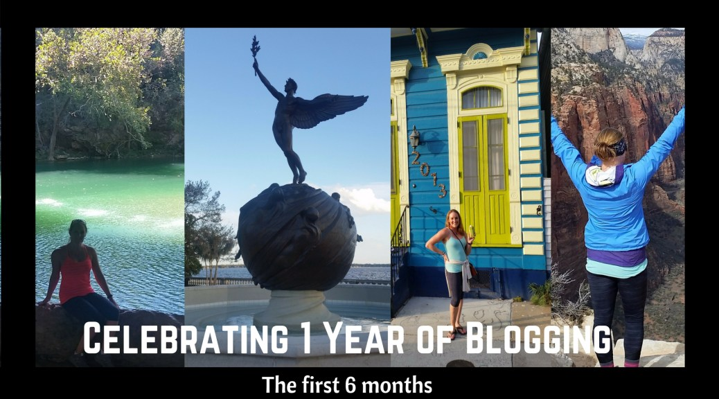 Celebrating 1 year of blogging
