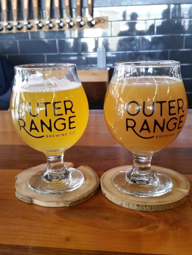 Two juicy beers at Outer Range