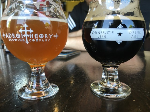 Two great craft beers from Adroit Theory