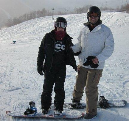 Skiing at Stowe