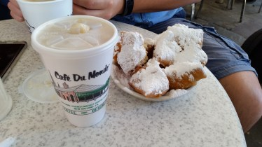 Cafe au Lait and Beignets!