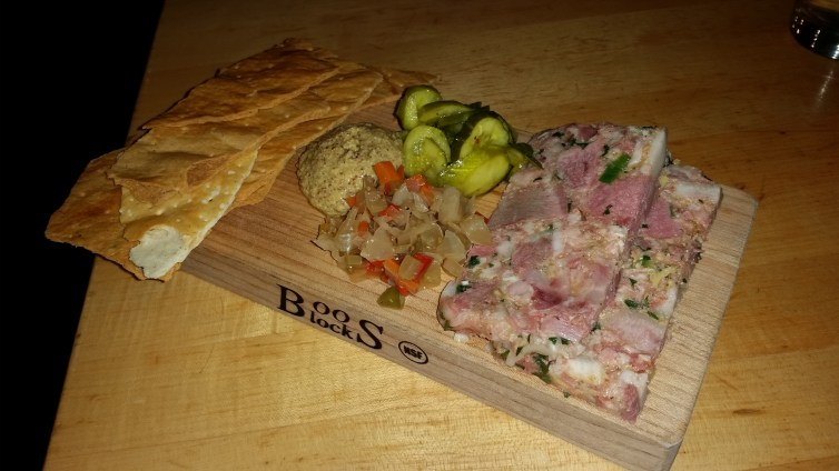 Head Cheese at Cochon Butcher