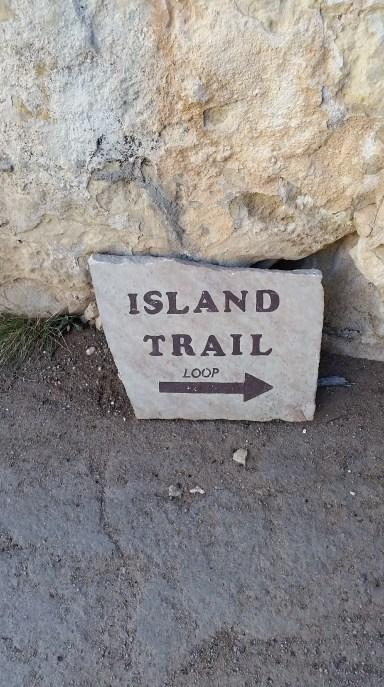 Island Trail at Walnut Canyon