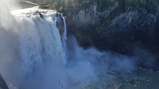Falls from above
