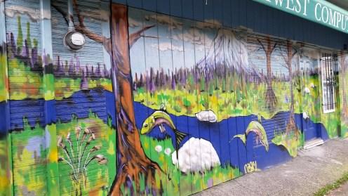 Street art in GreenwoodStreet art in Greenwood