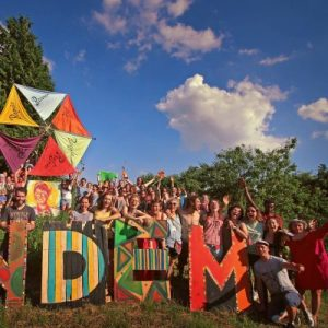 Gathering at Tandem Festival
