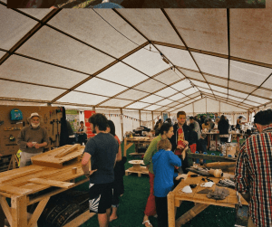 Wood cutting workshop