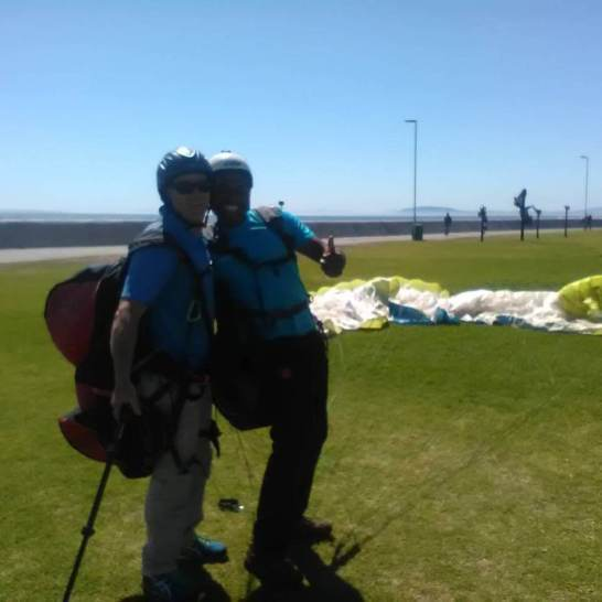 happy tandem landing in seapoint