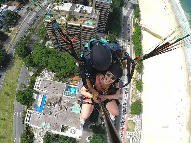 paragliding Rio secure experience flight instructor