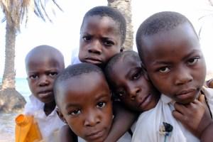 school children in Lakoma