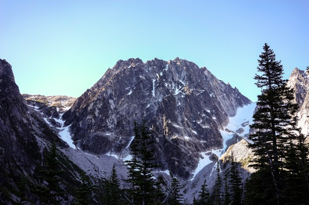 Dragontail peak.