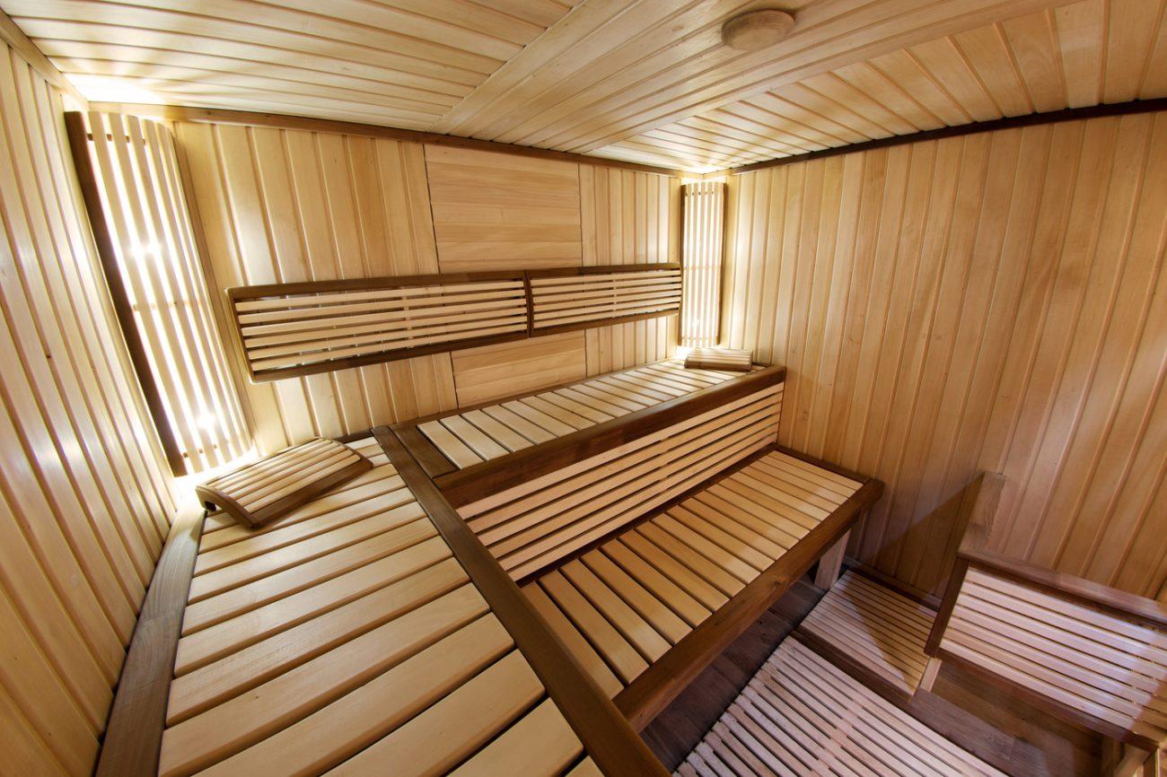 sauna room  T  G Flooring