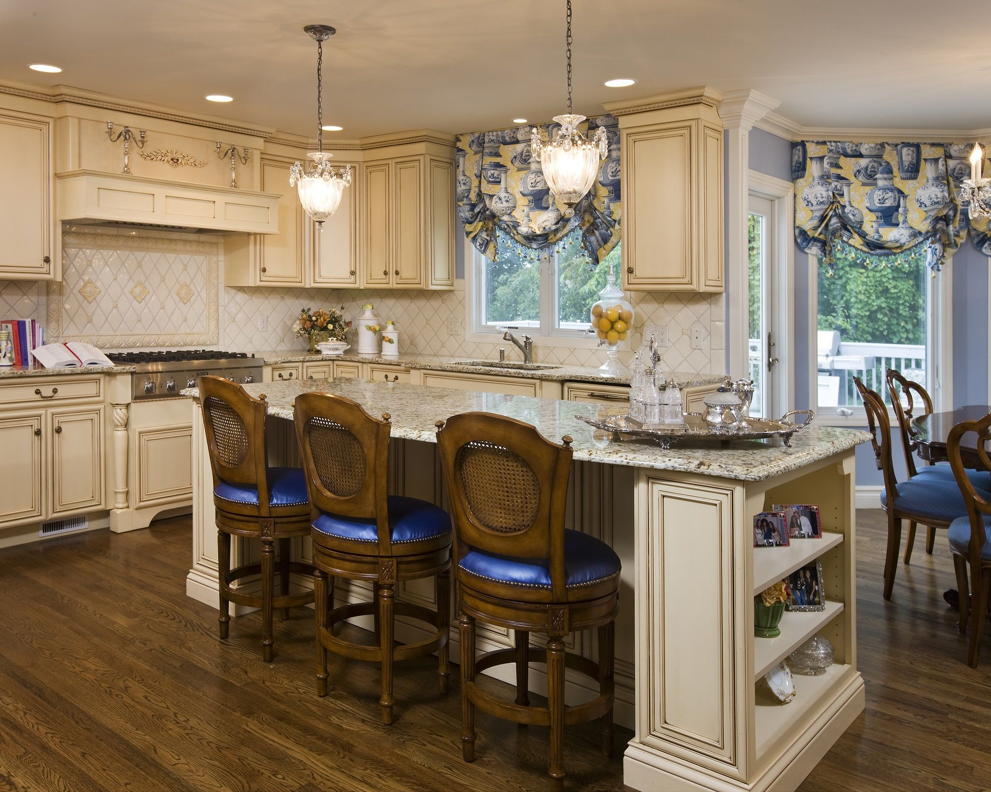 Country French Kitchen  TK Contractors