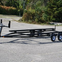 Boat Trailer Single Or Dual Axle Wilson Alternator Wiring Diagram 22ft To 25ft Bunk T Andm Marine