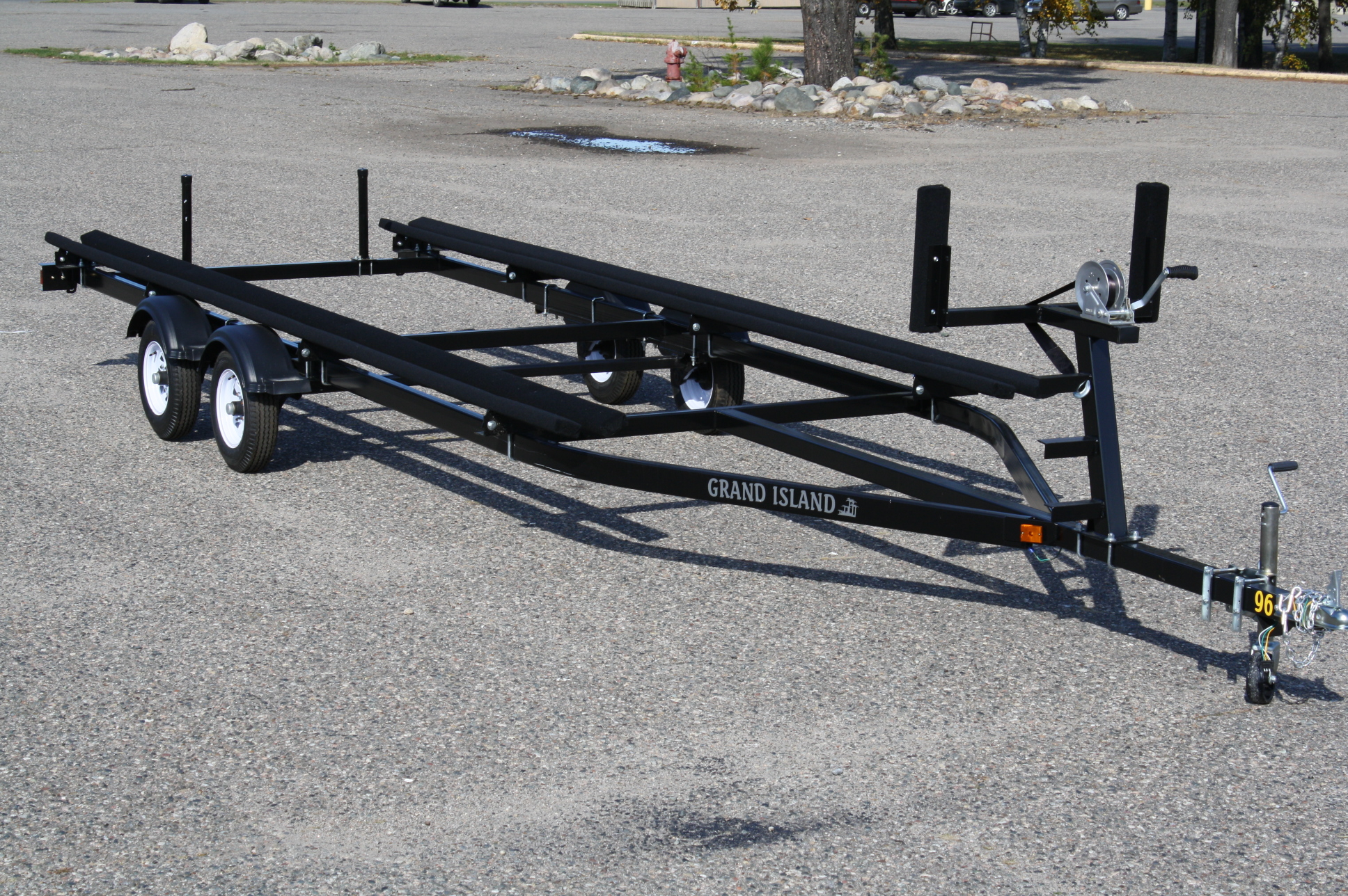 boat trailer single or dual axle plug wiring diagram with electric brakes 22ft to 25ft bunk t andm marine